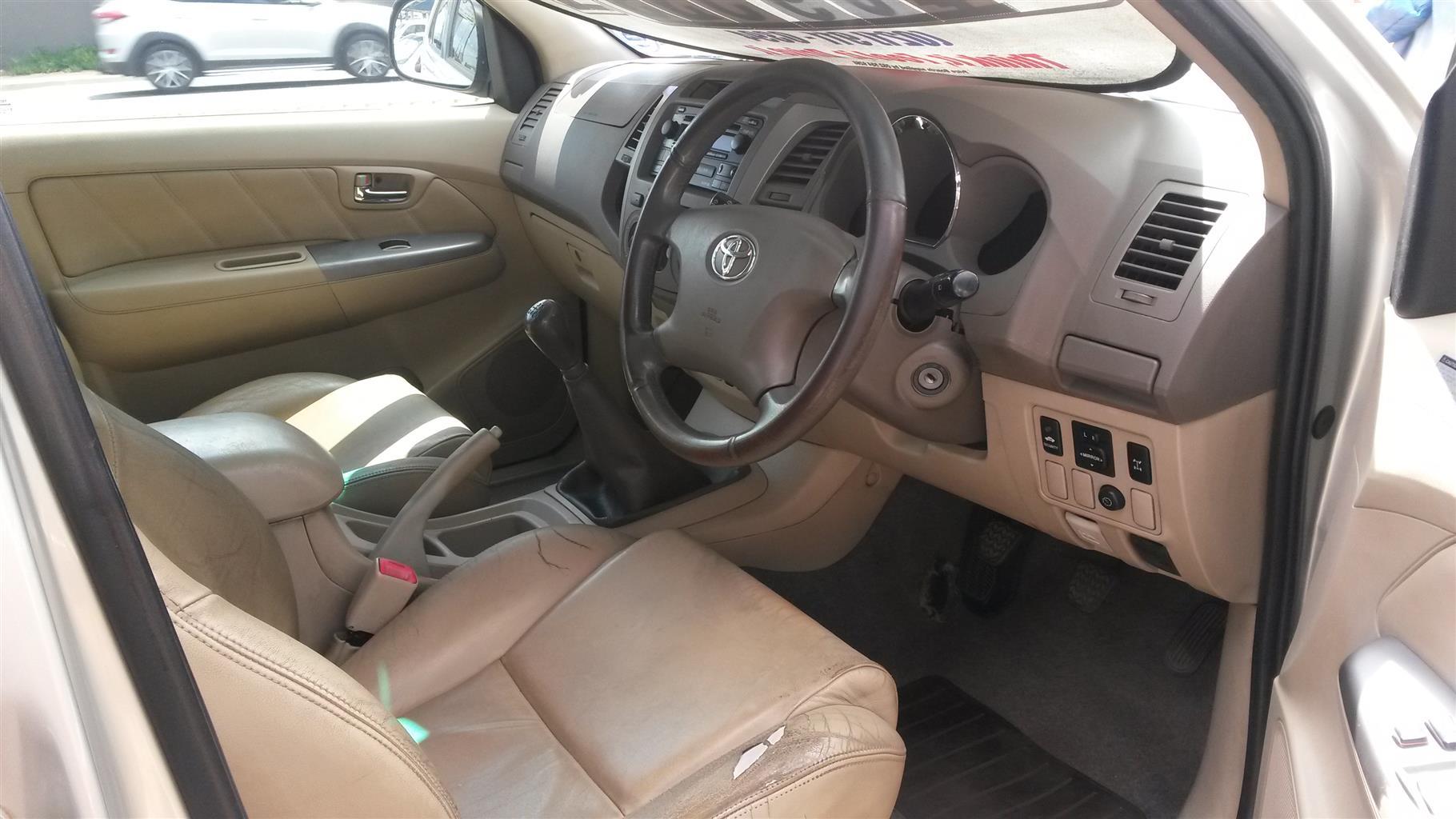 2008 Toyota Fortuner 4.0 V6