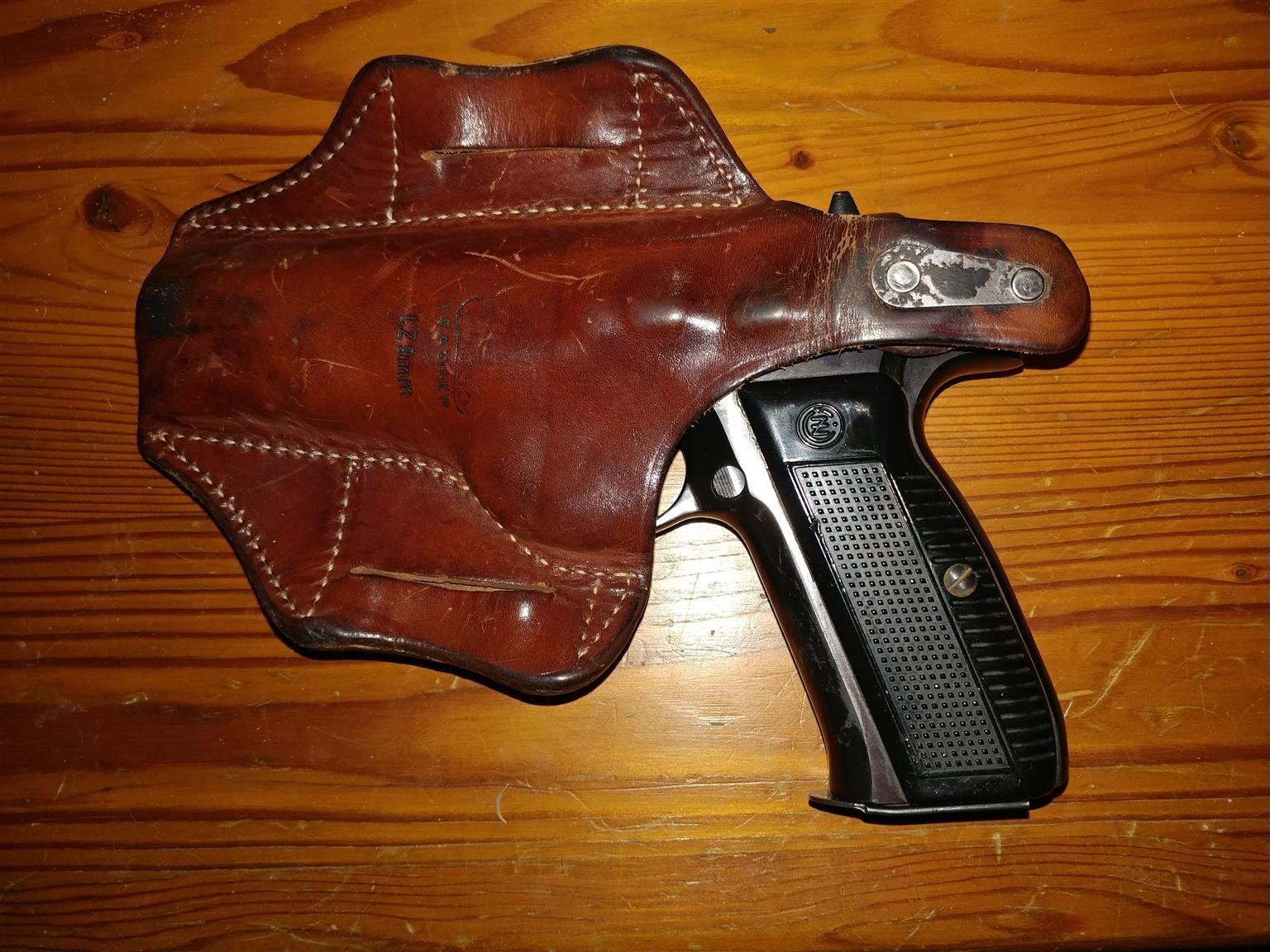 CZ 75 9mm pistol