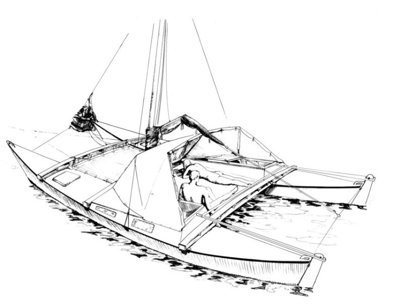 Wharram Tiki 26 Catamaran for sale