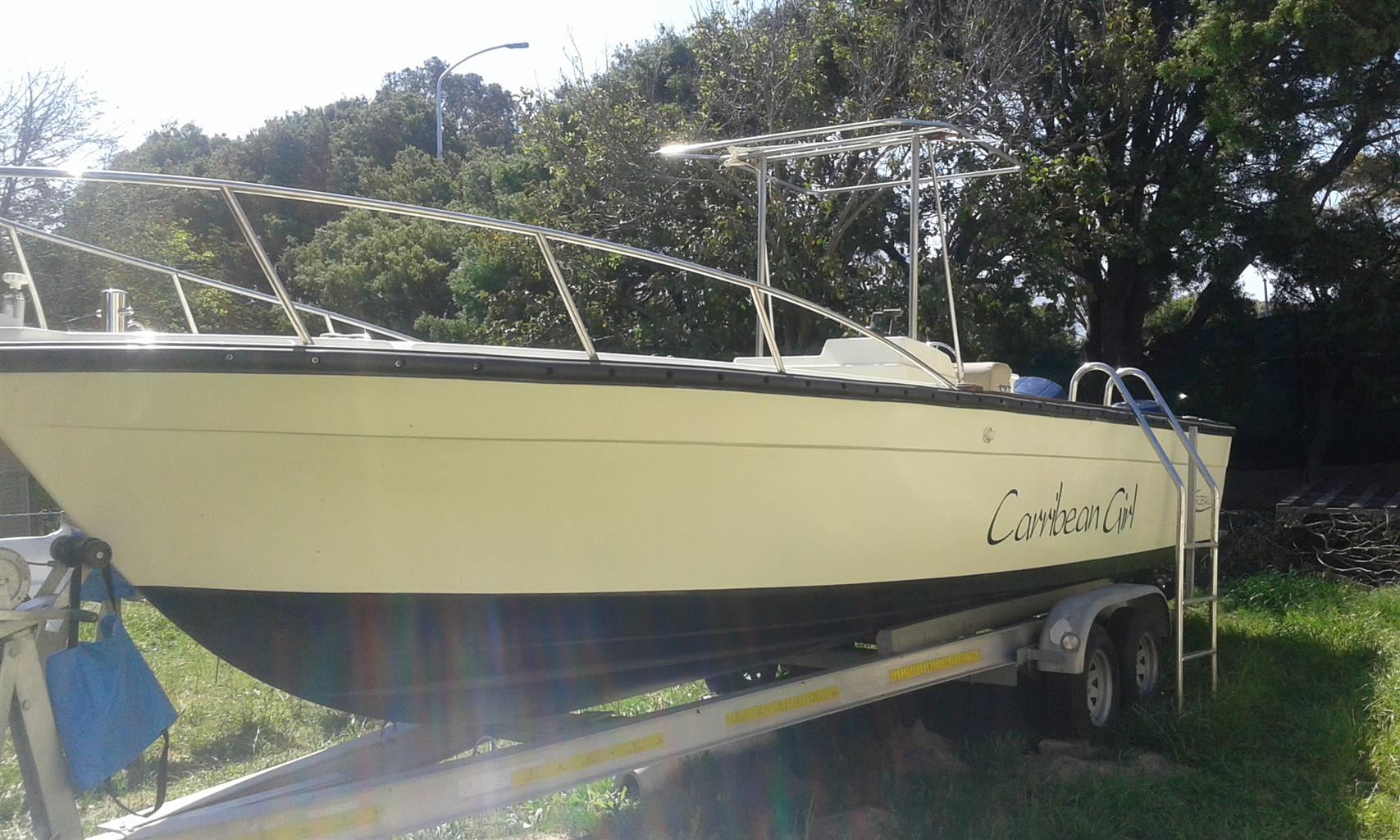 8 metre Robalo Boat