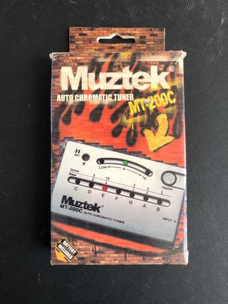 Muztek Auto Chromatic Music Tuner with jack input