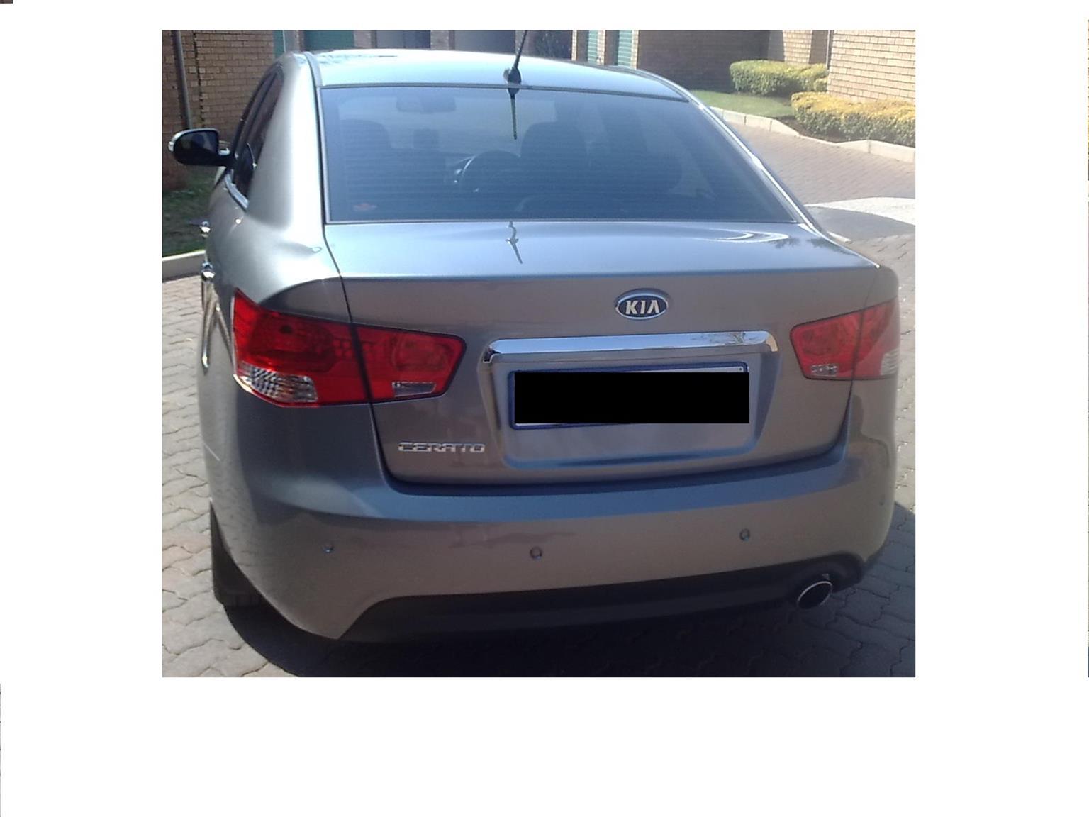 2010 Kia Cerato sedan 2.0 EX