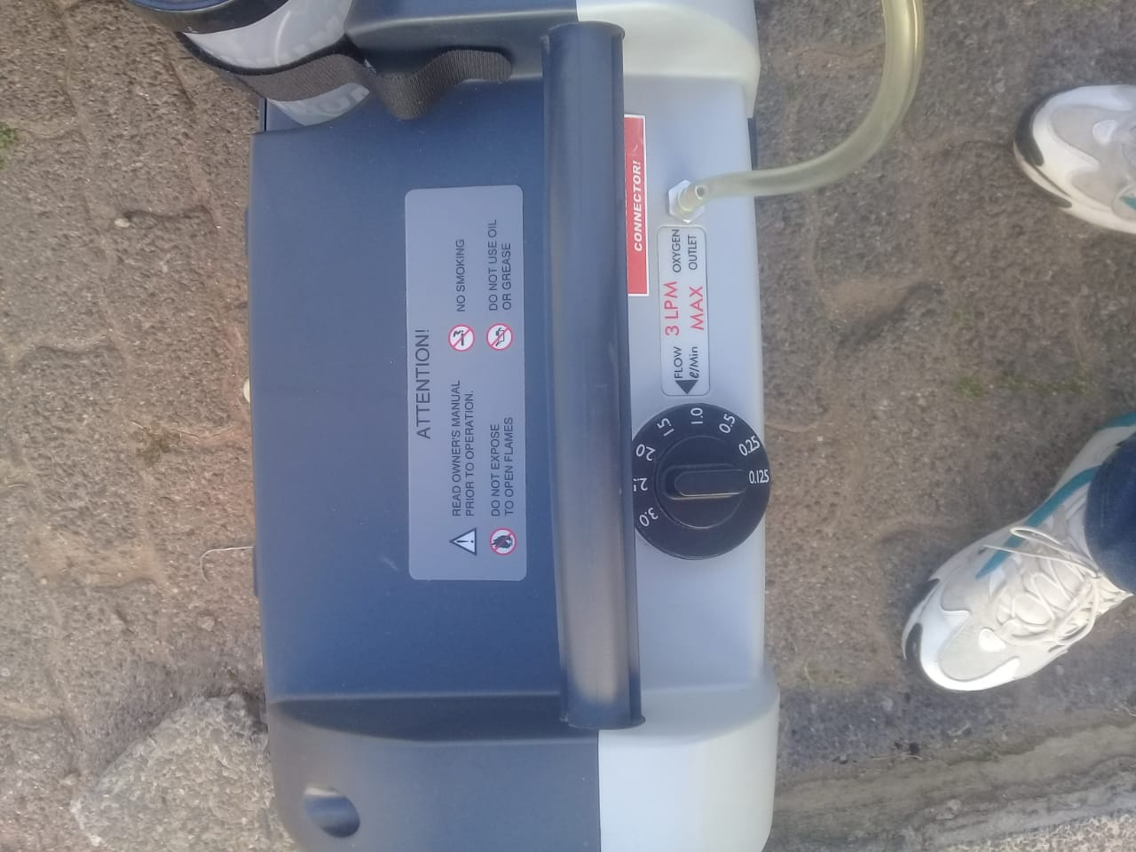 Nuvo Lite, Mark 5, Oxygen Concentrator