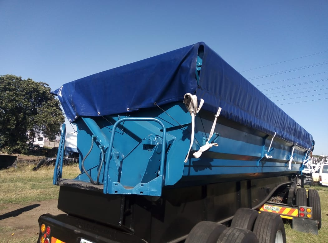 HEAVY DUTY (800GSM) TIPPER COVERS INCLUDING LABOUR AND ACCESSORIES USED