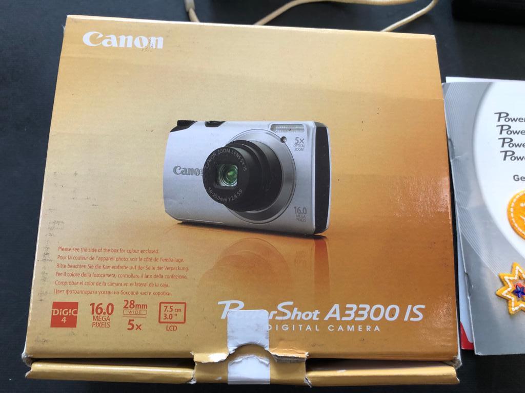Canon Powershot A3300 IS 16MP Digital Camera