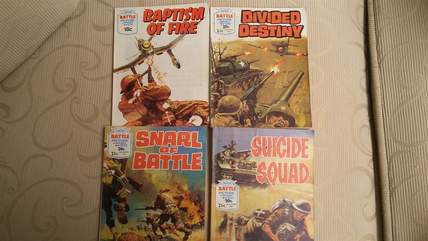 Battle Library War Comics