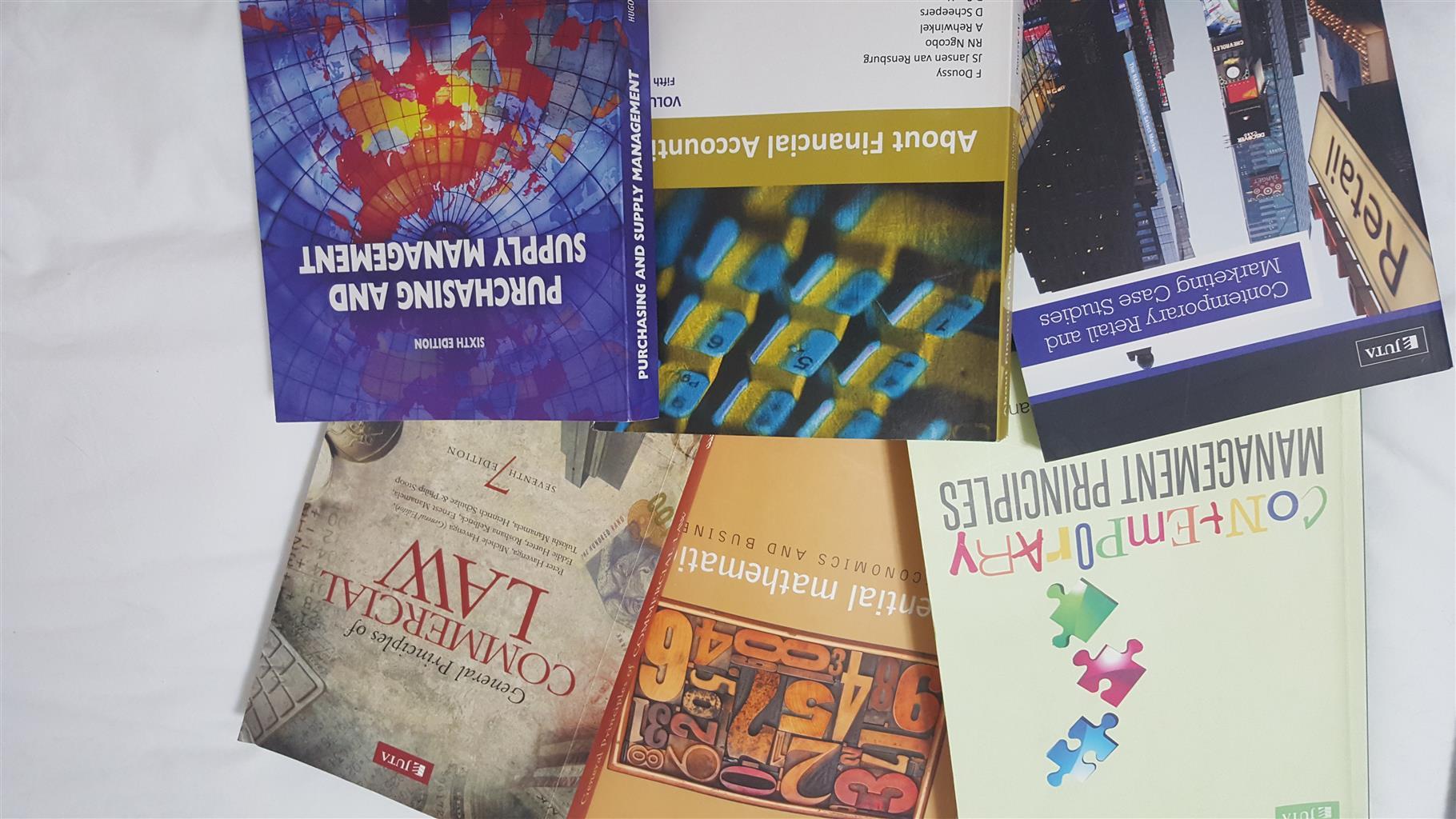 UNISA BCom degree books for sale