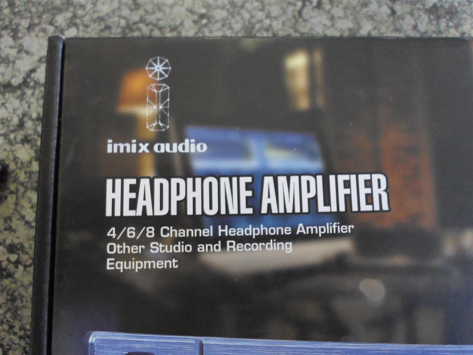 Imix 4/6/8 Channel Amp