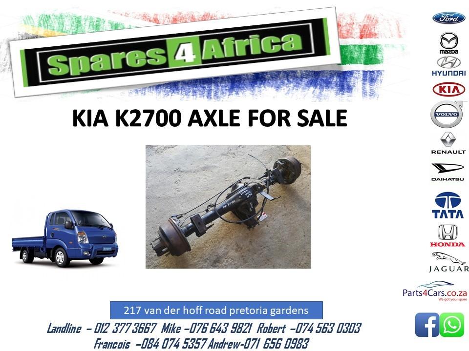 Kia k2700 axle for sale !!
