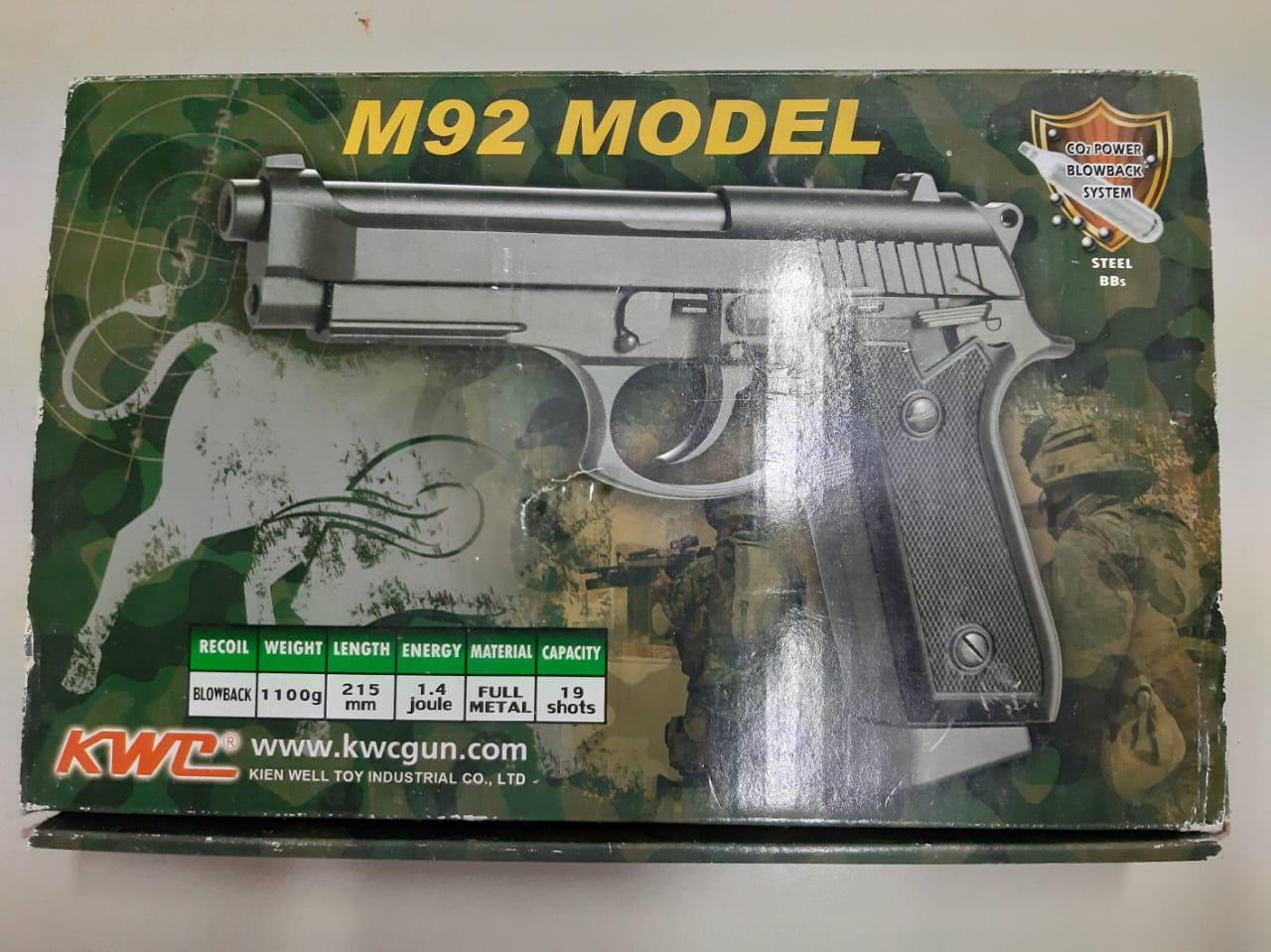 KWC Full Metal blowback co2 gas toygun