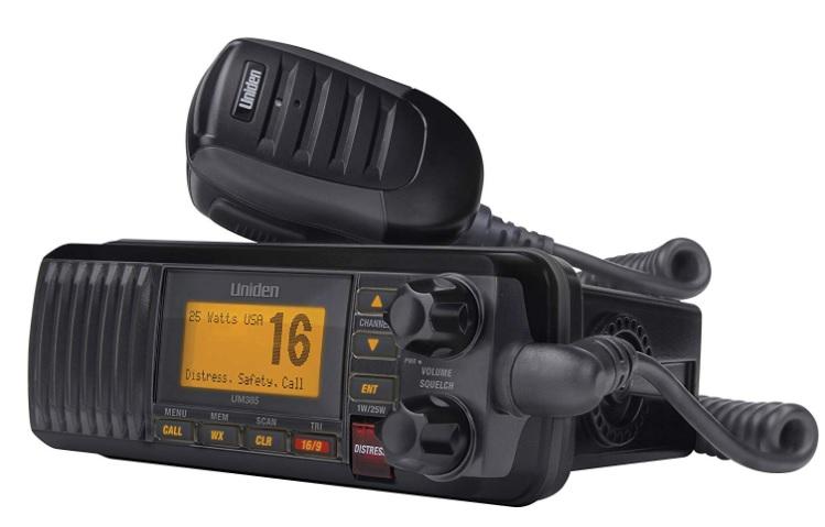 UM385 25 Watt Fixed Mount Marine Radio with DSC