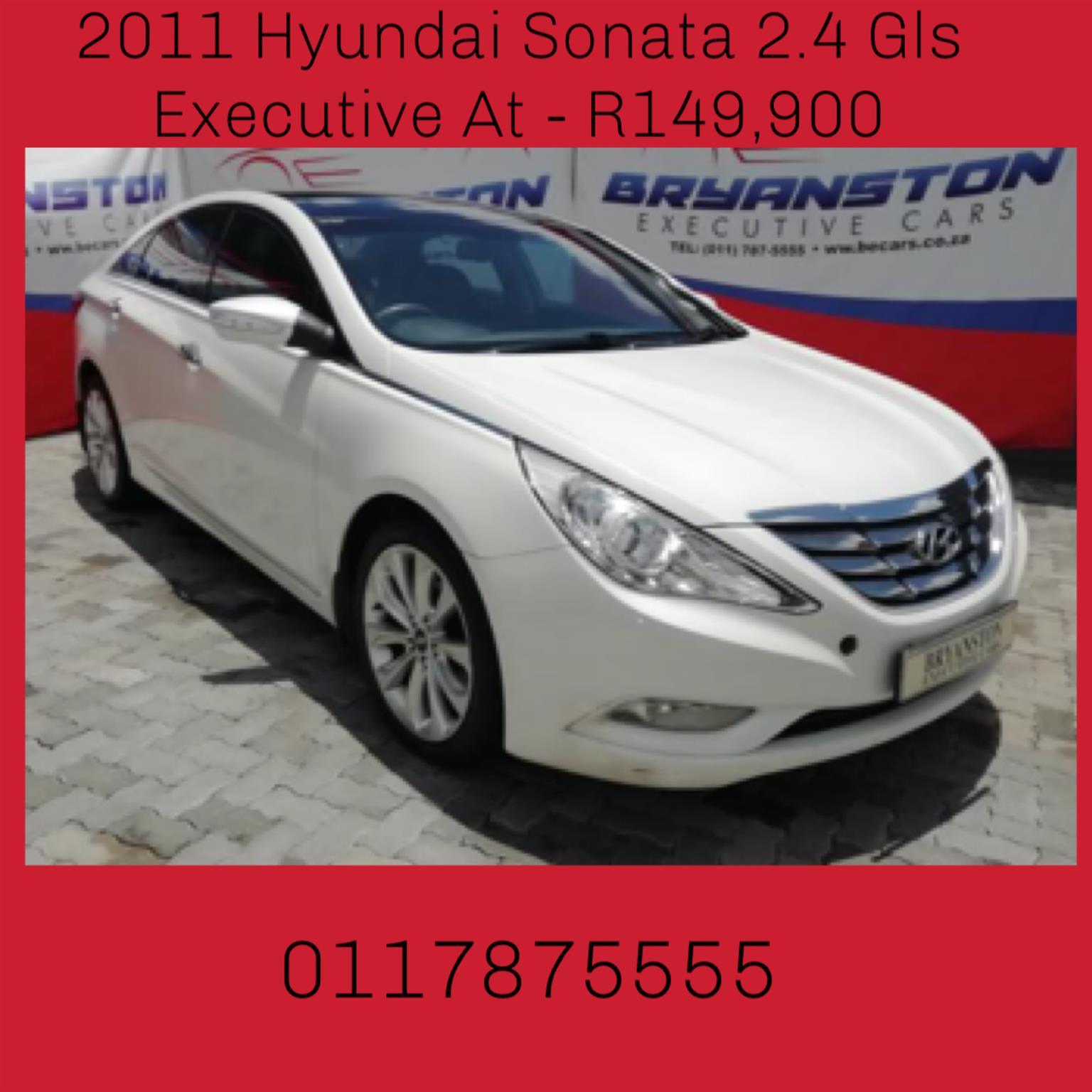 2011 Hyundai Sonata 2.4 GLS automatic