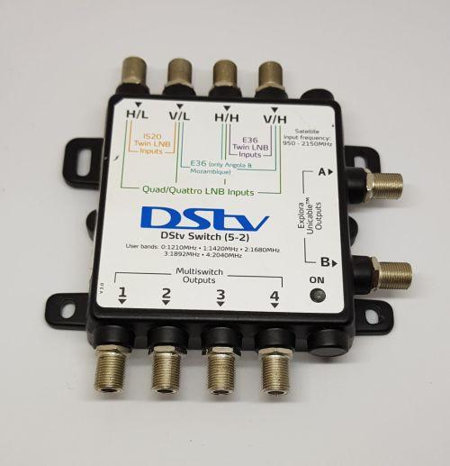 DSTV Multiswitch 5-2
