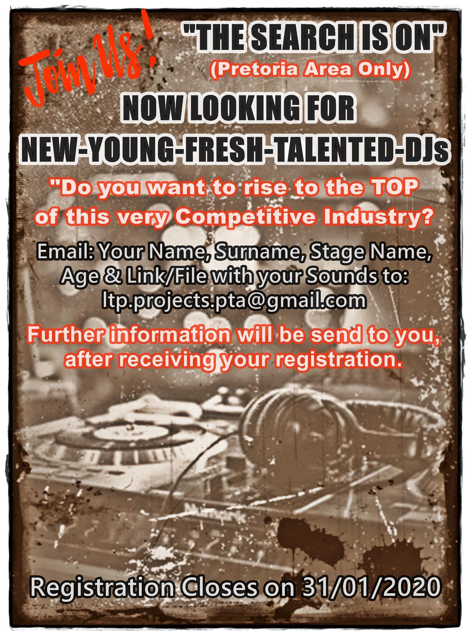 Looking for DJs
