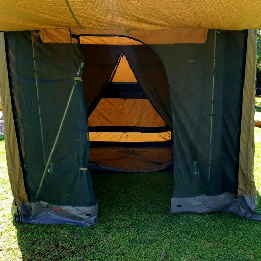 new oz tent and ventertrailer tent used ×2   for more information call leon
