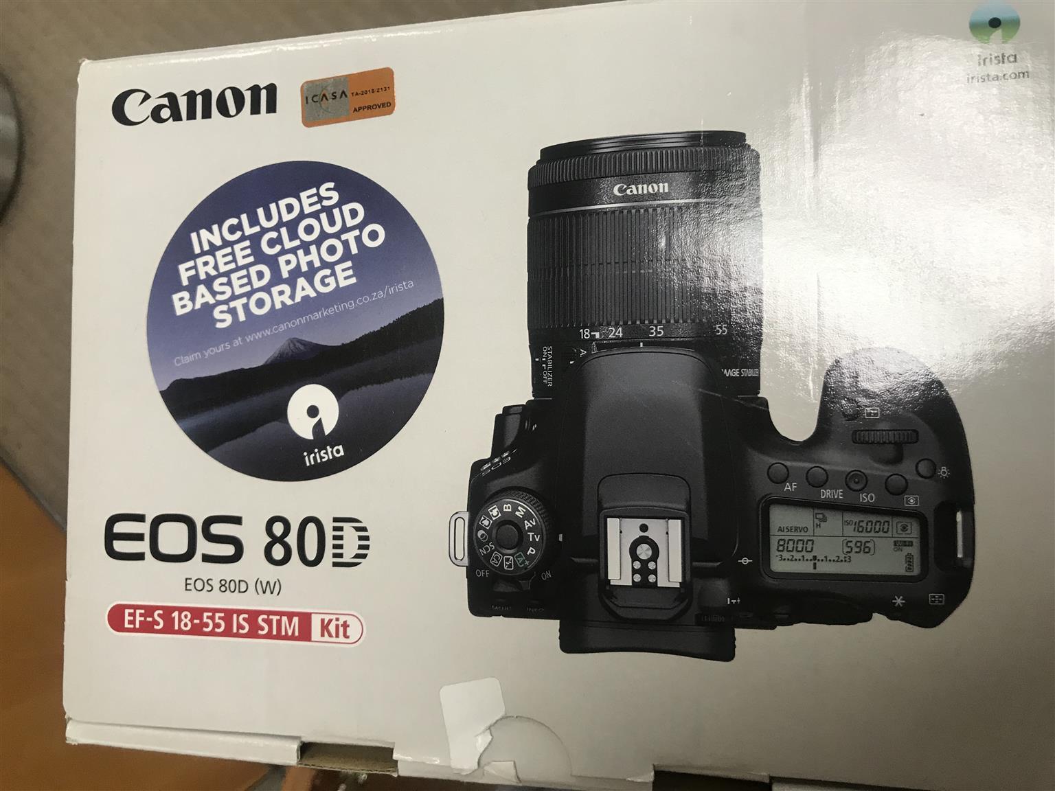 Canon EOS 80D Camera