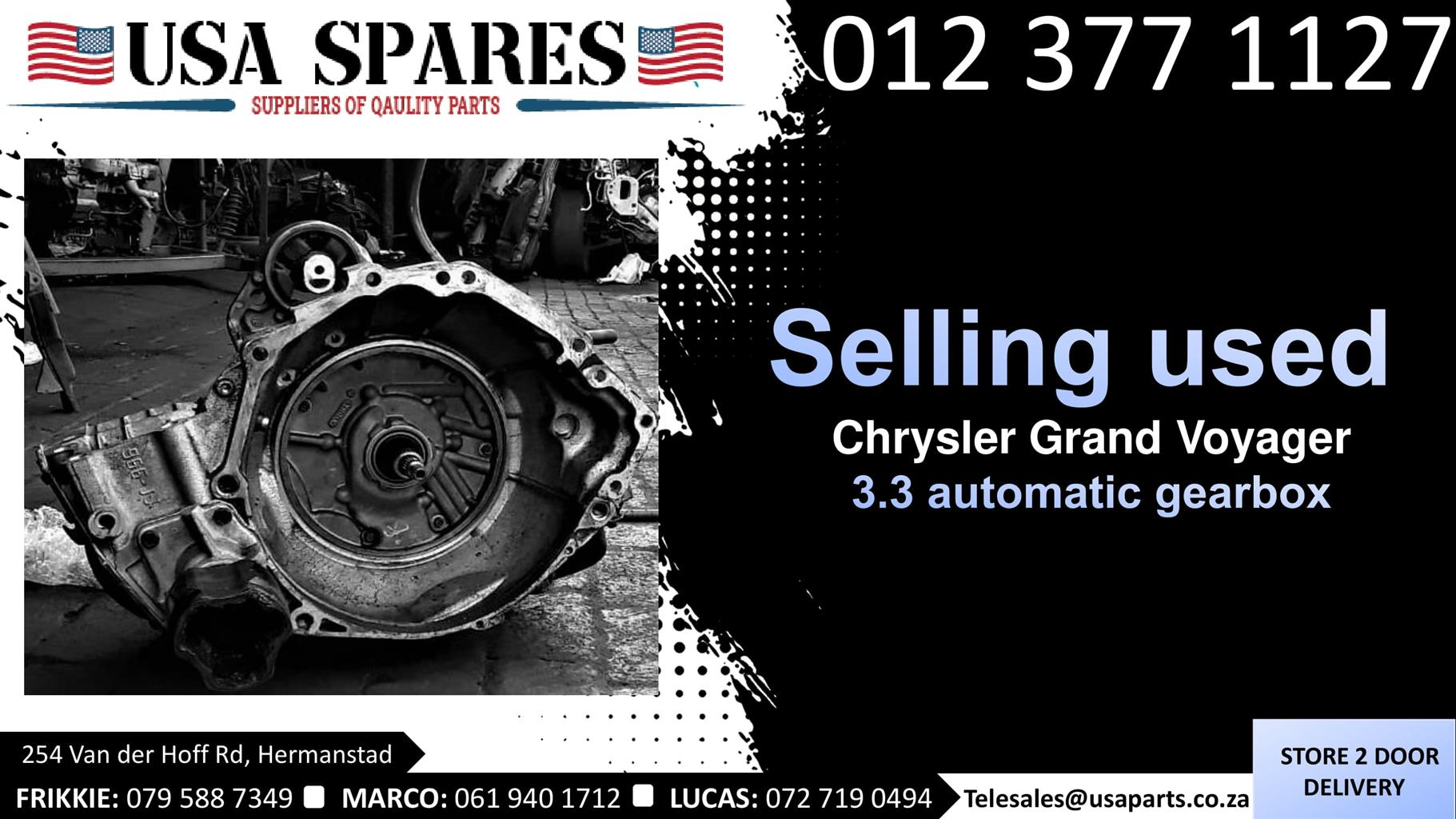 Chrysler Grand Voyager 3.3 used automatic gearbox for sale