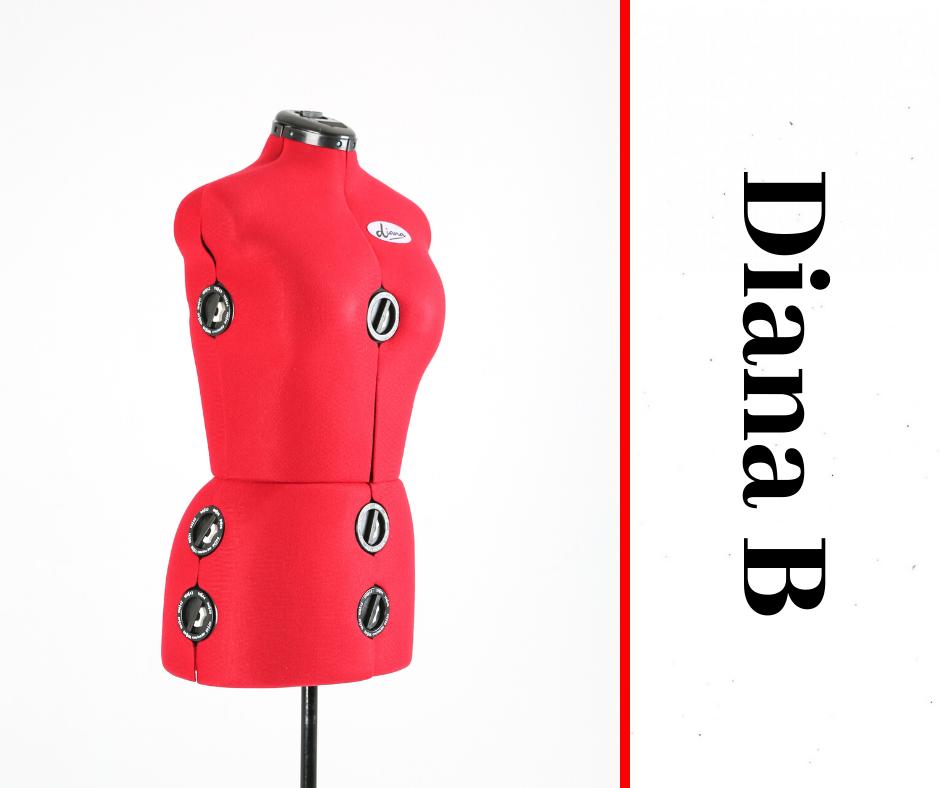 Diana B - Adjustable Dressmaker Doll / Mannequin / Sewing Doll