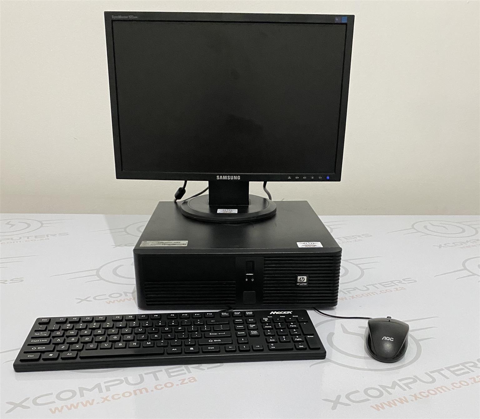 HP Dual Processor Desktop Tower