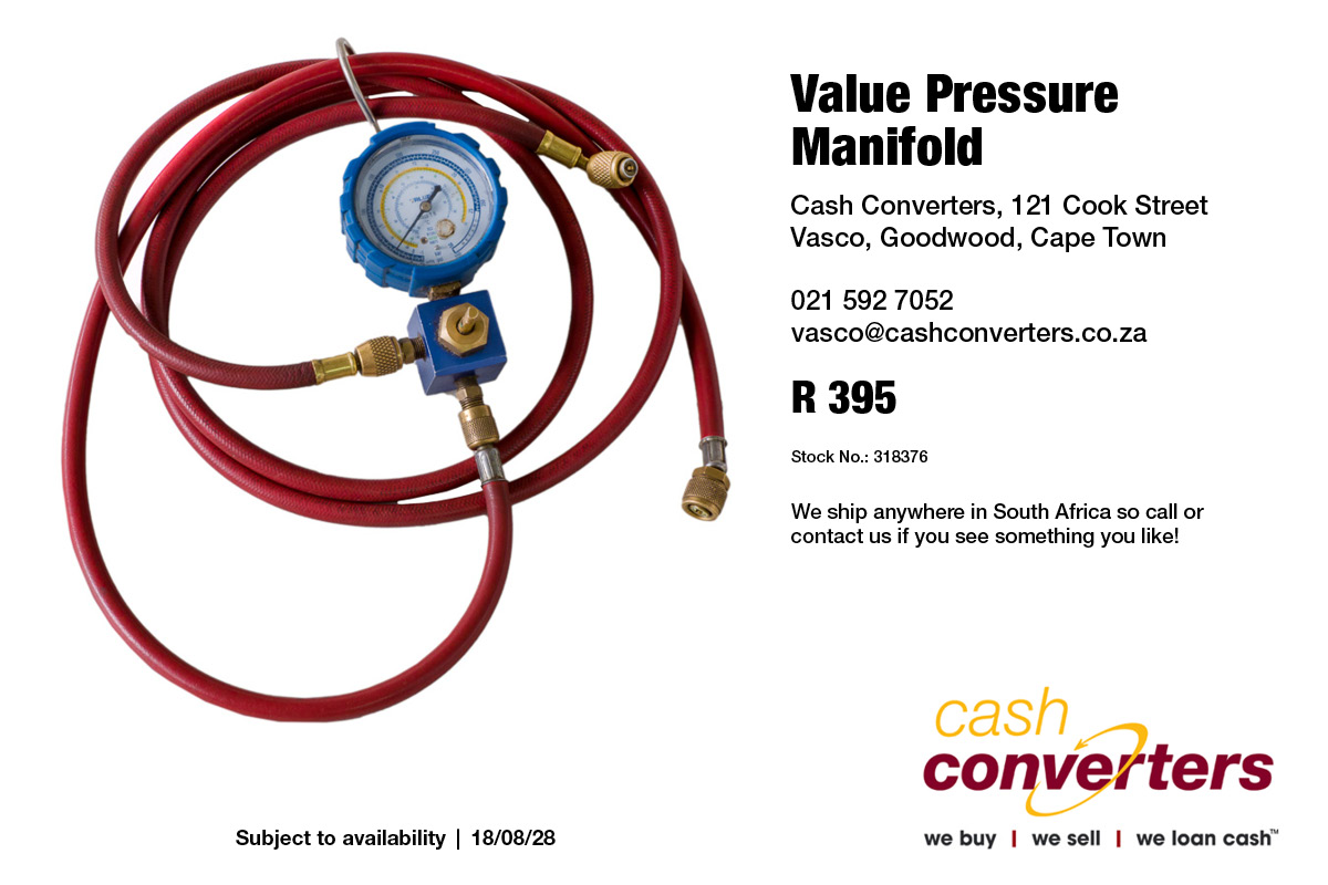 Value Pressure Manifold