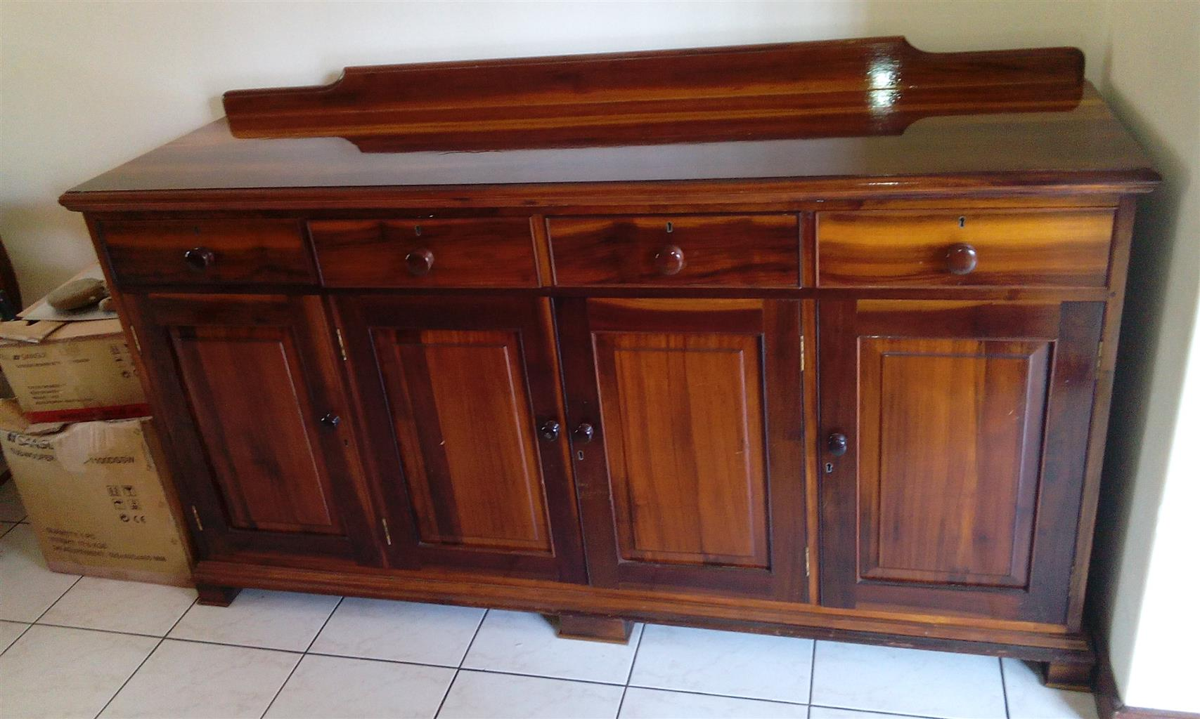 Knysna stink wood dining room furniture junk mail