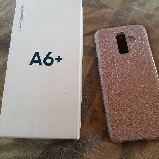 samsung A6+ cellphone for sale in mint condition. only one owner and its me.