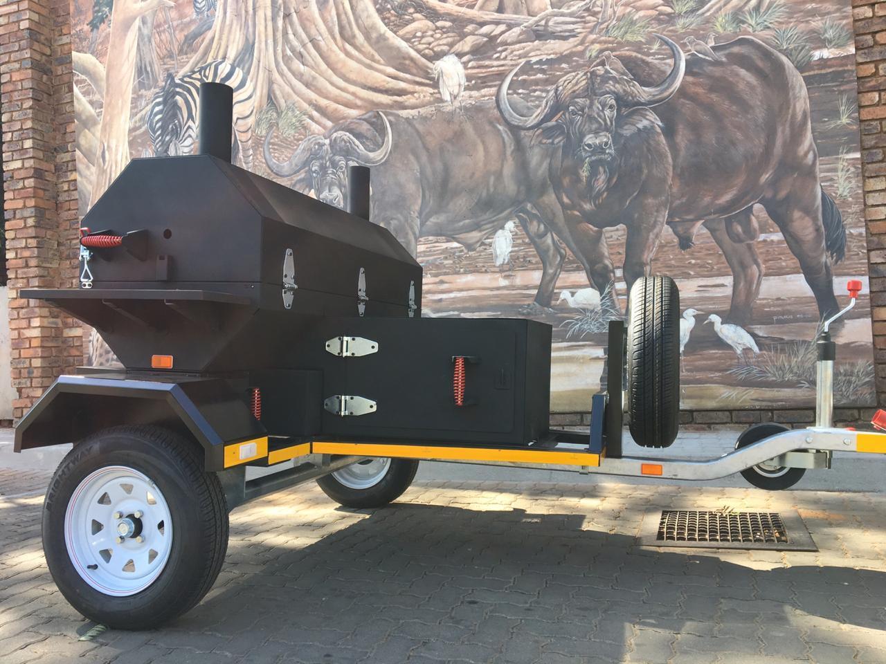 New Mobile Smoker For Sale