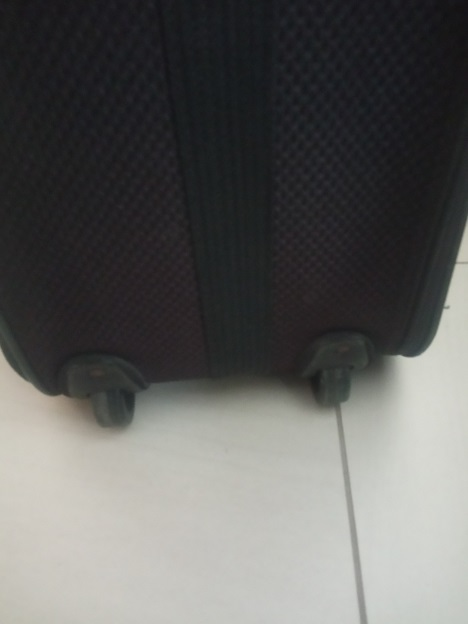 Travelways 75x60x 30 large travel Suitcase with handle and wheels
