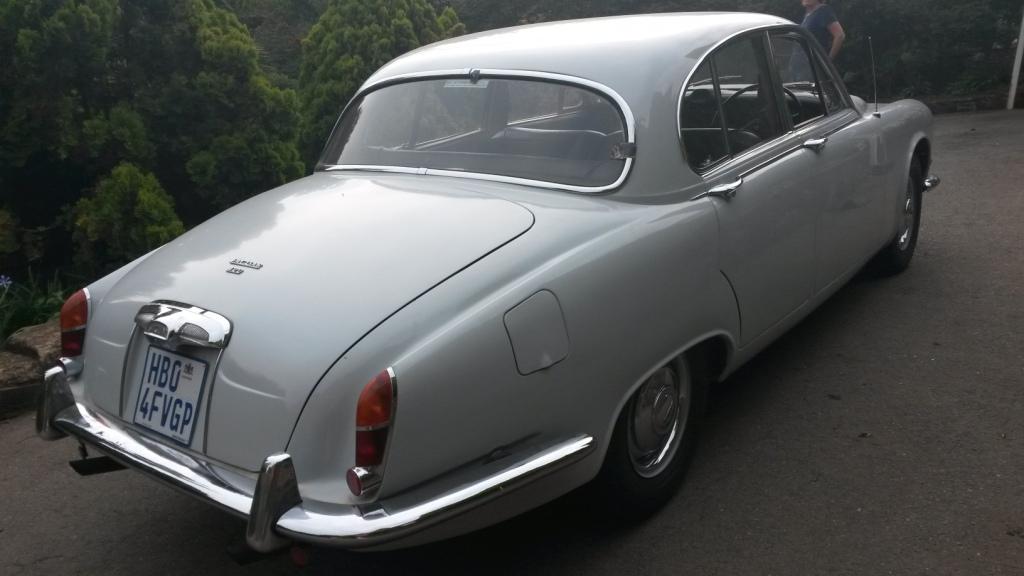 A Classic Jaguar sports saloon