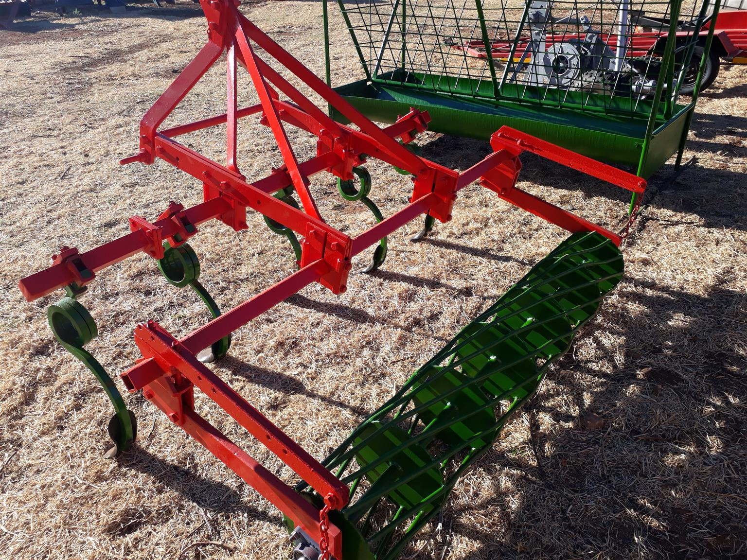 seedbed maker 5 furrow and roller