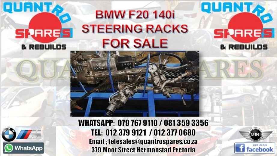bmw f20 140i steering rack for sale