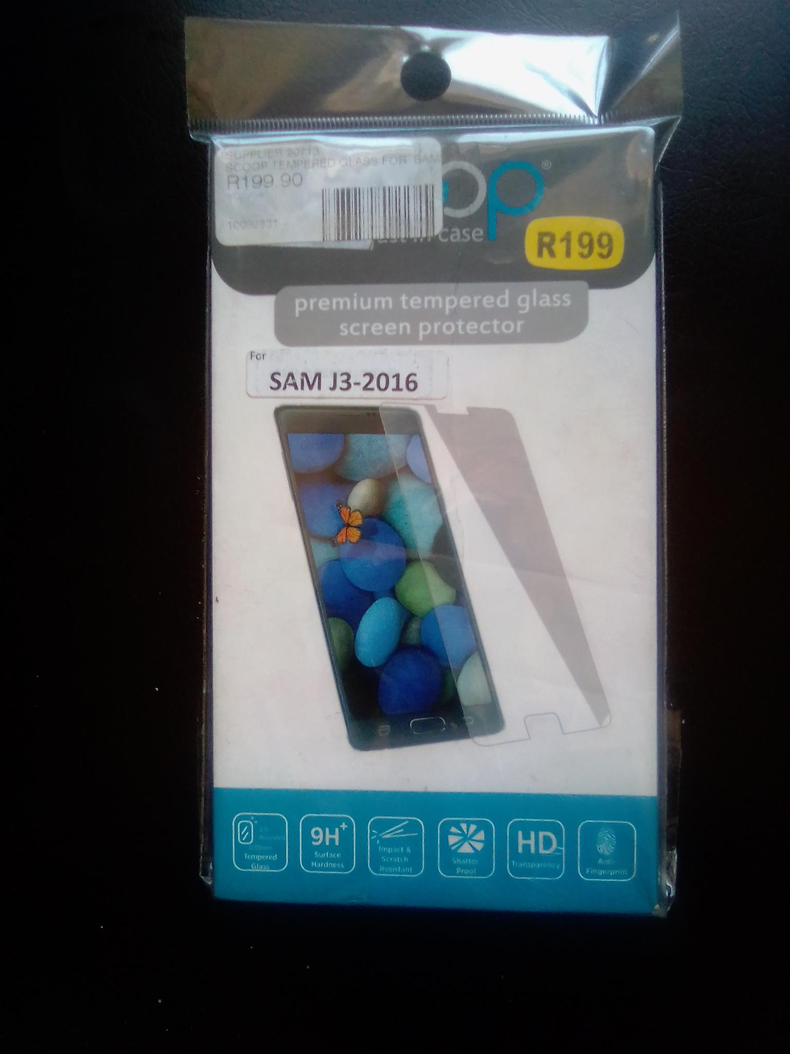 Premium Tempered Glass Screen protector for Samsung J3