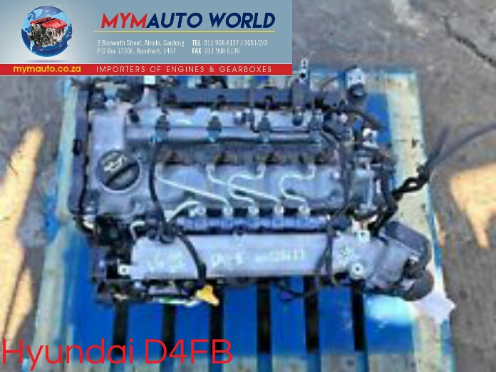 Imported used HYUNDAI ELANTRA/CERATO 1 6L DIESEL, D4FB, Complete second  hand used engine