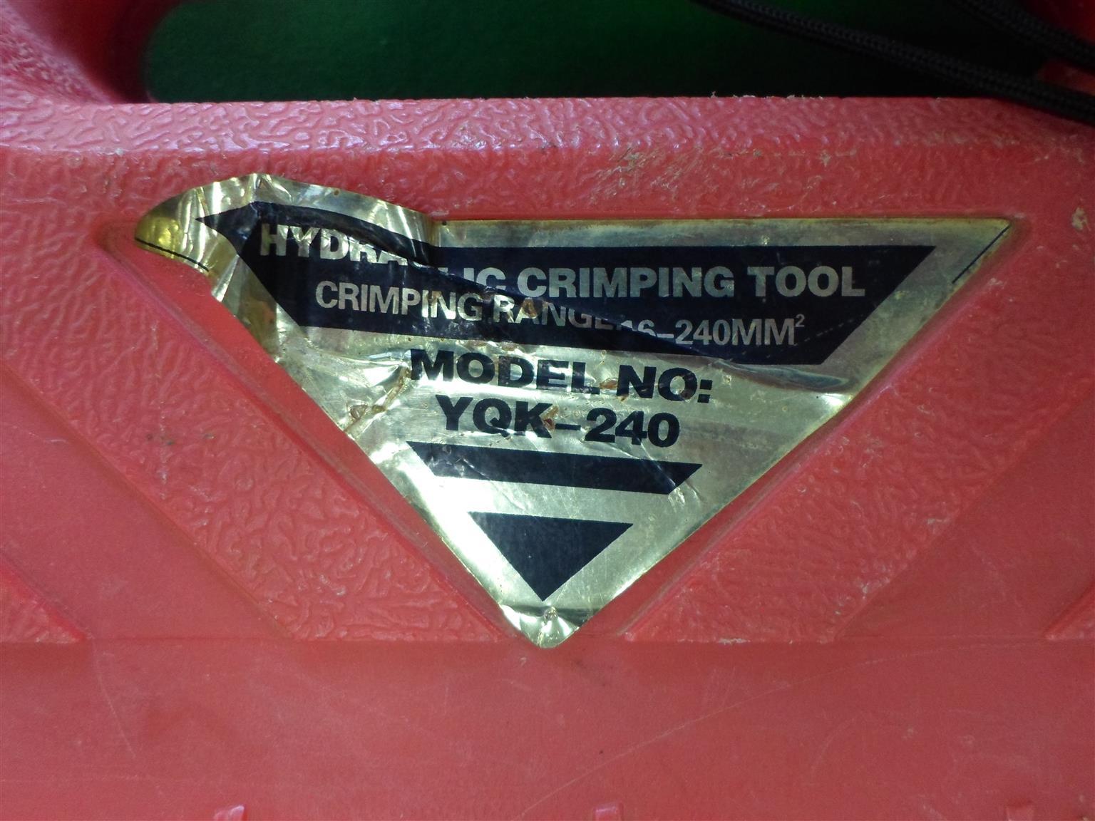 YQK-240 Hydraulic Crimping Tool