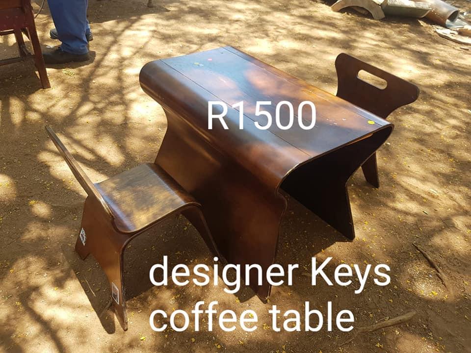 Designer keys coffee table