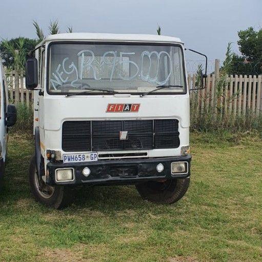 Fiat Flatdeck Truck