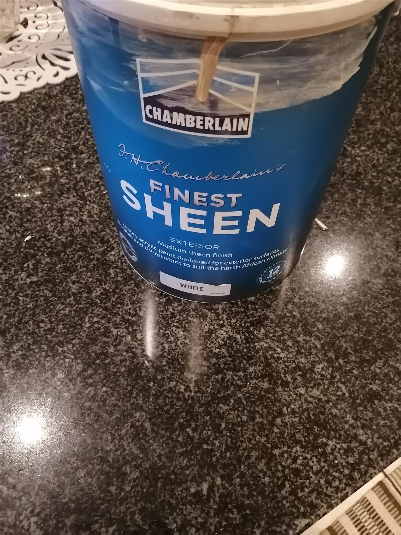 Indoor sheen paint