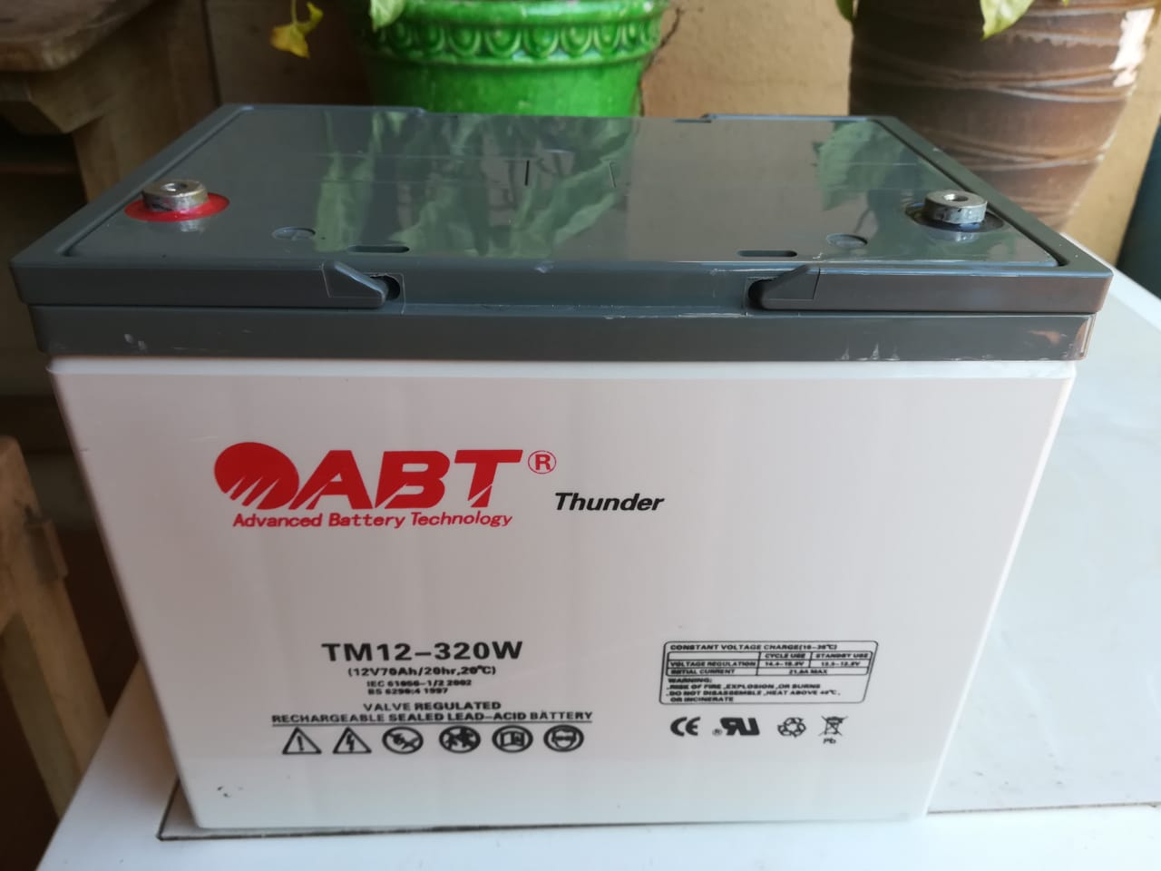 70Amp/Hr 12 Volt Deep Cycle Maintenance Free Solar Batteries