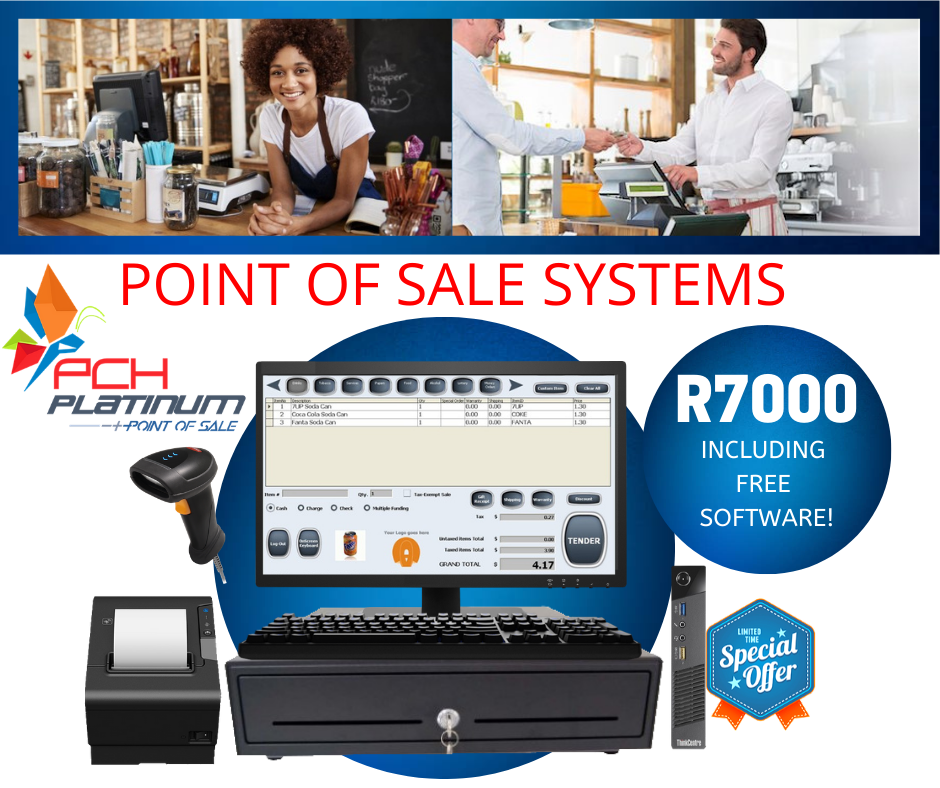 Point of Sale System with Free Software included