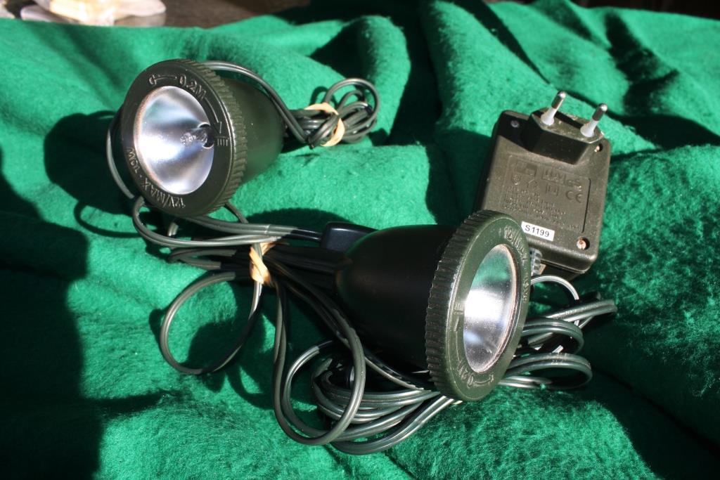 Halogen Spotlights for Plants