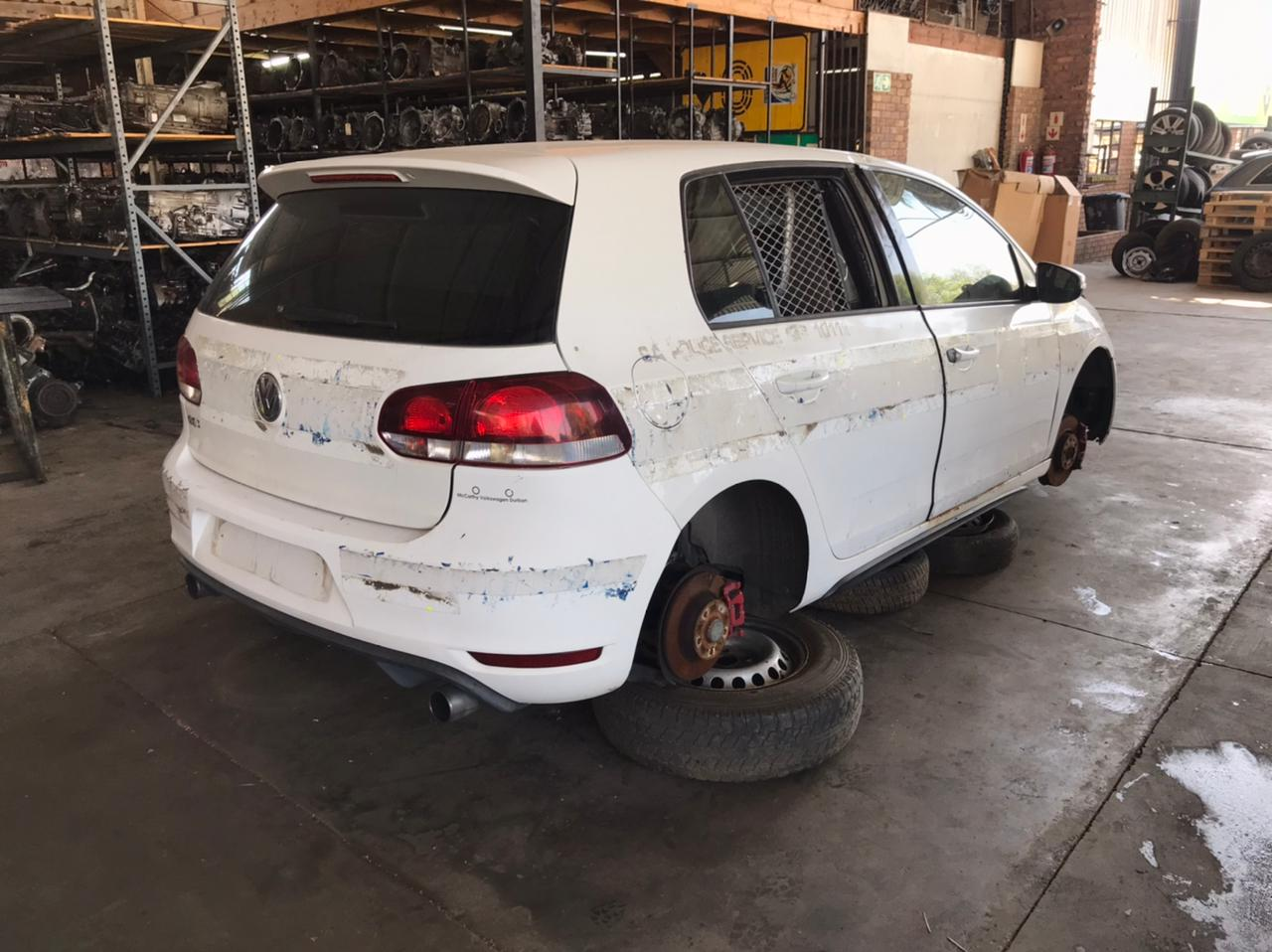 Volkswagen Golf 6 GTI 2.0 TSI Stripping for Used Spares Parts