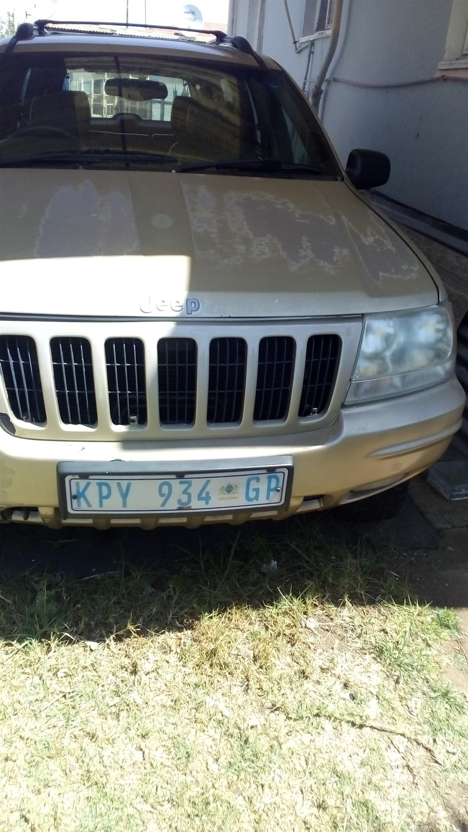 2000 Jeep Grand Cherokee 3.0CRD Limited