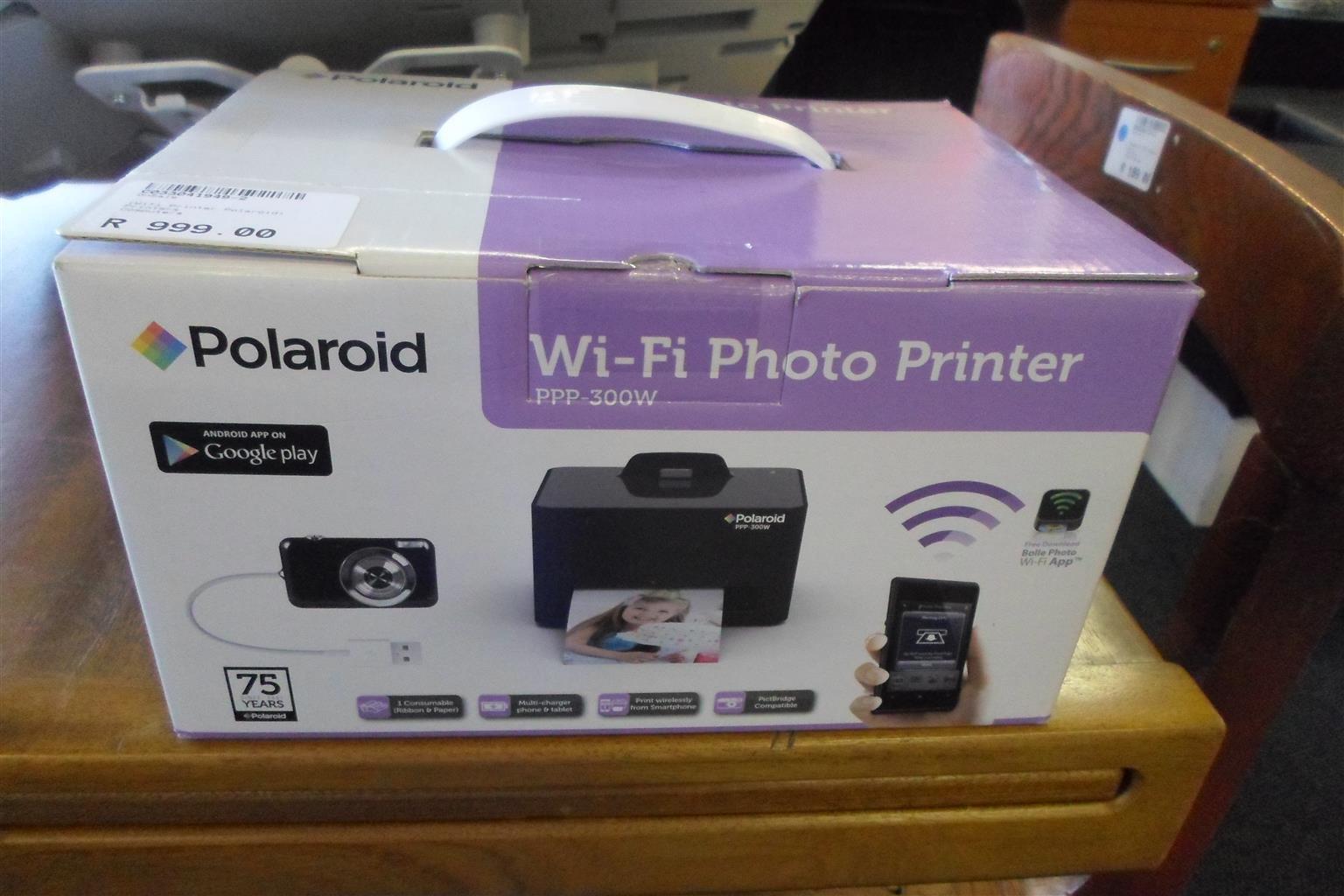 Polaroid WIFI Photo Printer - C033041949-2