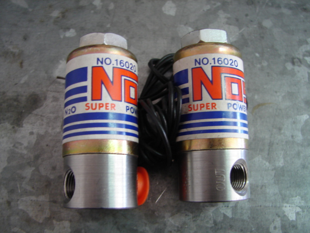 NOS Super Powershot Nitrous Solenoid