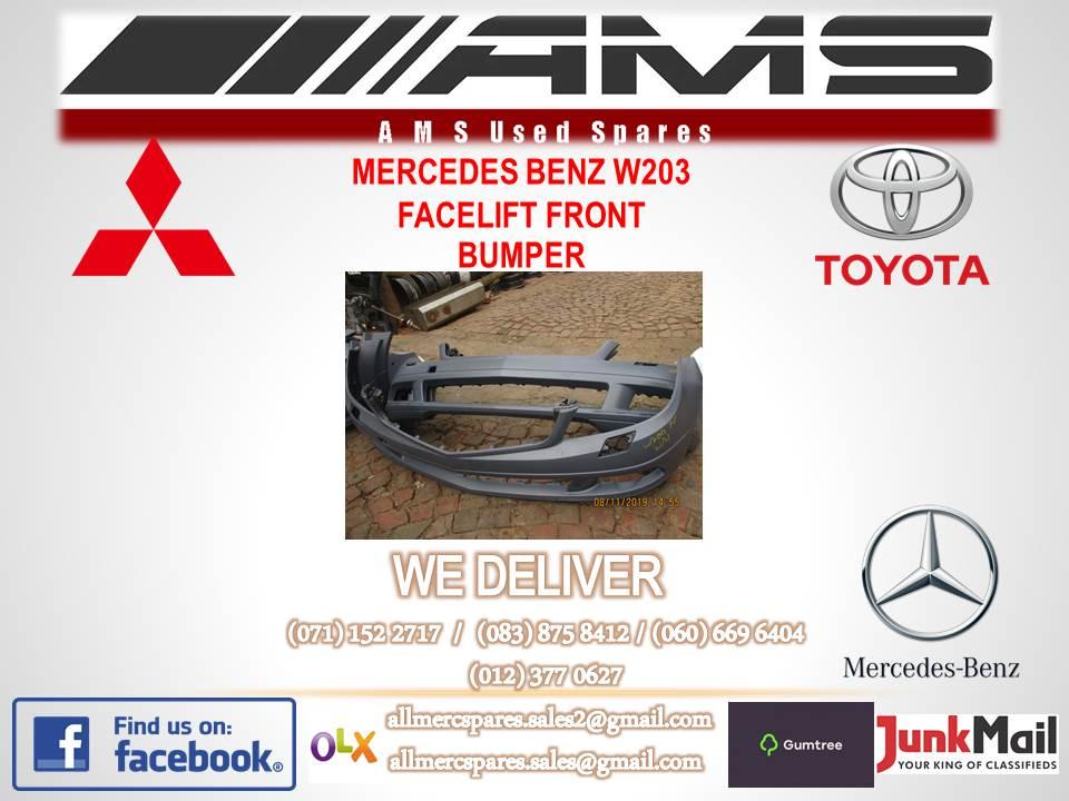 MERCEDES W203 FACELIFT BUMPER