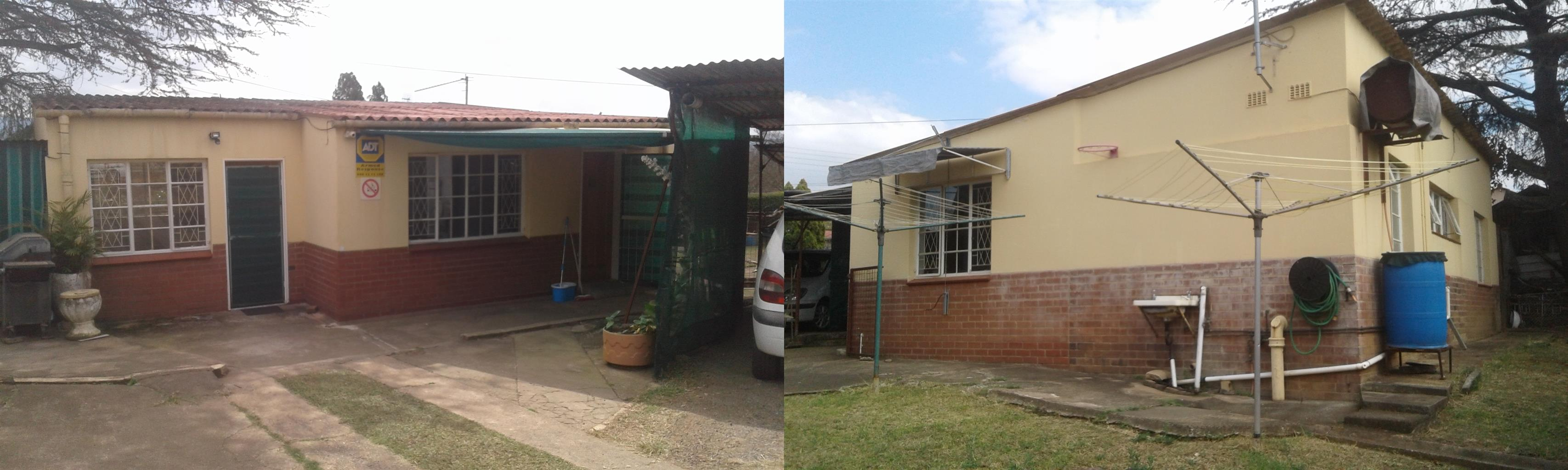 Garden flat for rent R 3,800 prepaid electricity