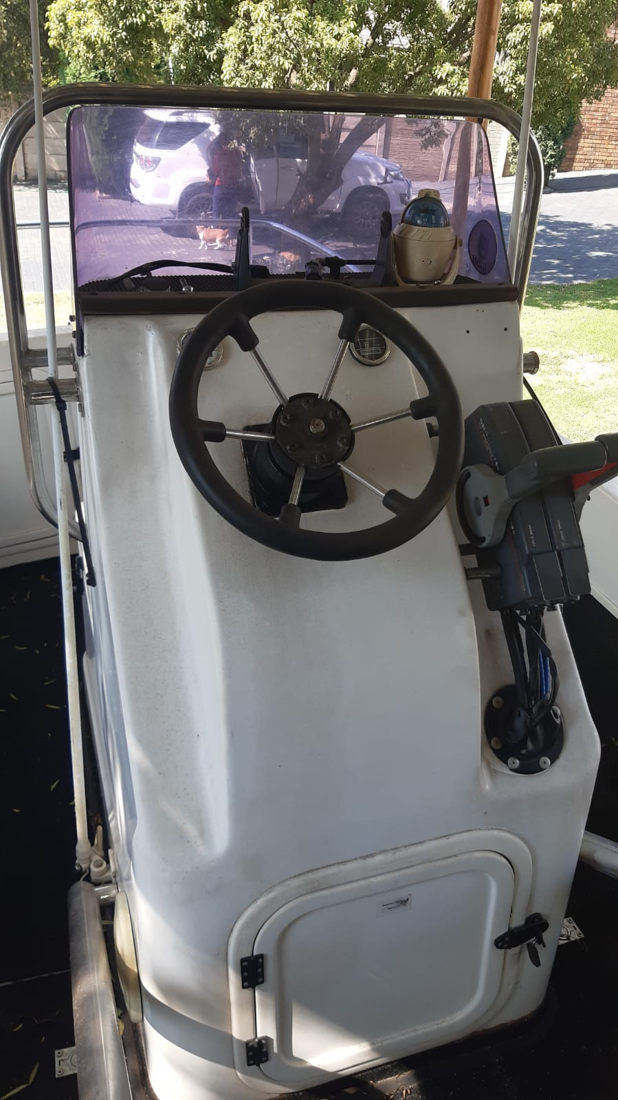 kozi cat 16 center console 2x50hp Yamaha  hydraulic steering no trim and tilt