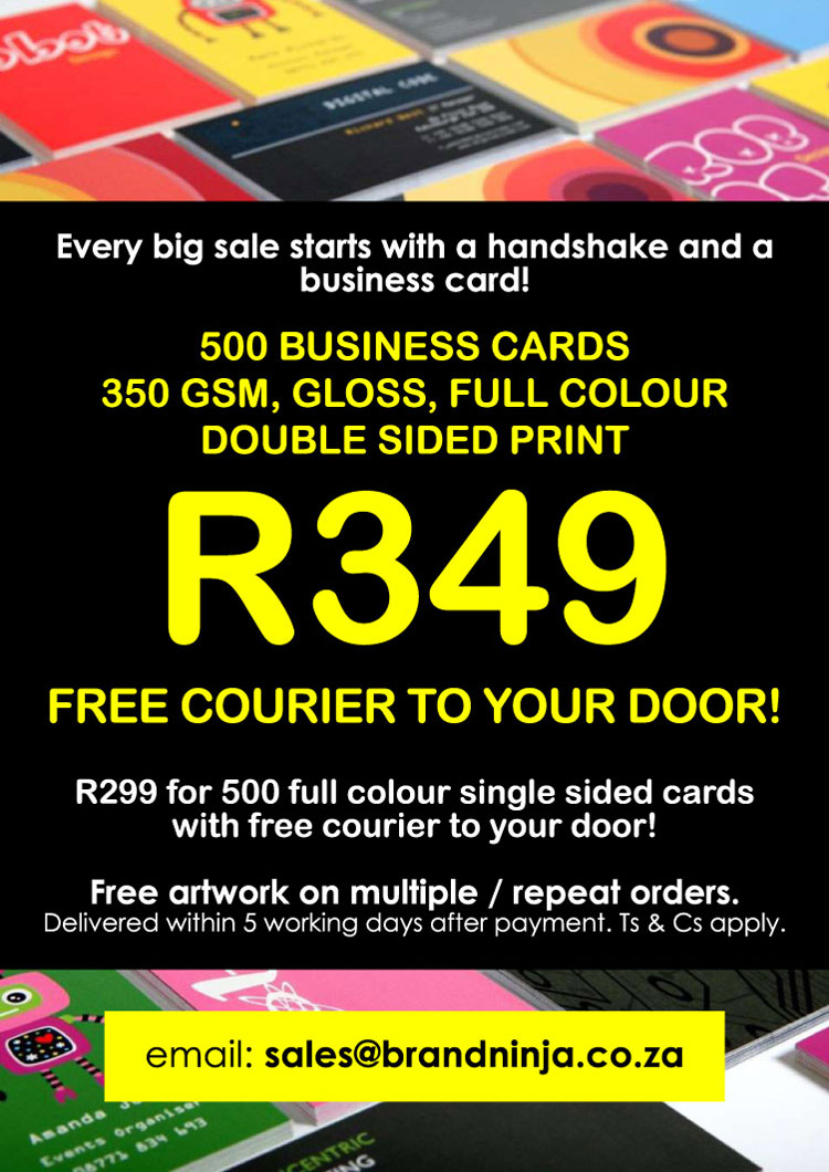 R349 for 500 business cards full colour double sided free courier r349 for 500 business cards full colour double sided free courier reheart Image collections