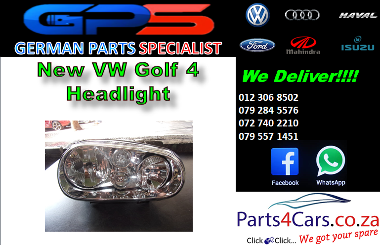 New VW Golf 4 Headlight for Sale