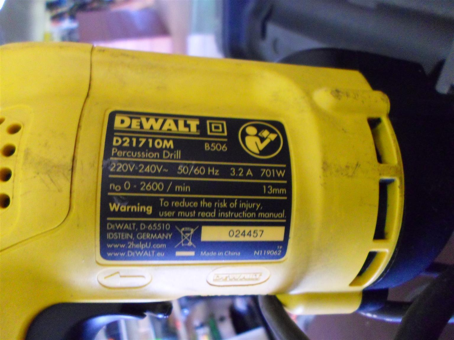 701W DeWalt Drill